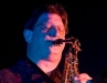 Gary Everett blows....a mean sax.