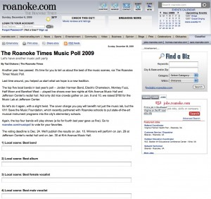 Roanoke.com Roanoke Times Poll